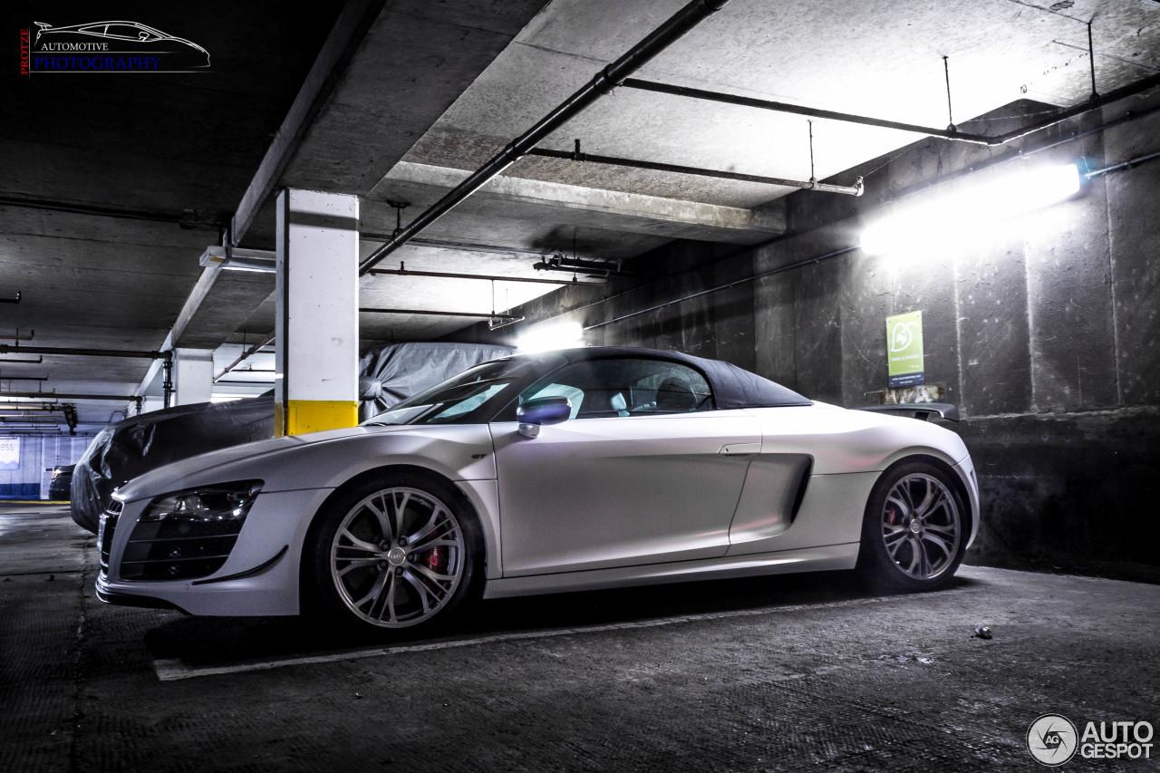 Audi R8 GT Spyder 4