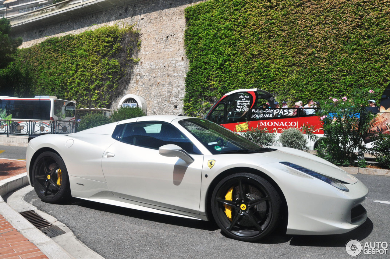 Ferrari 458 Spider 7