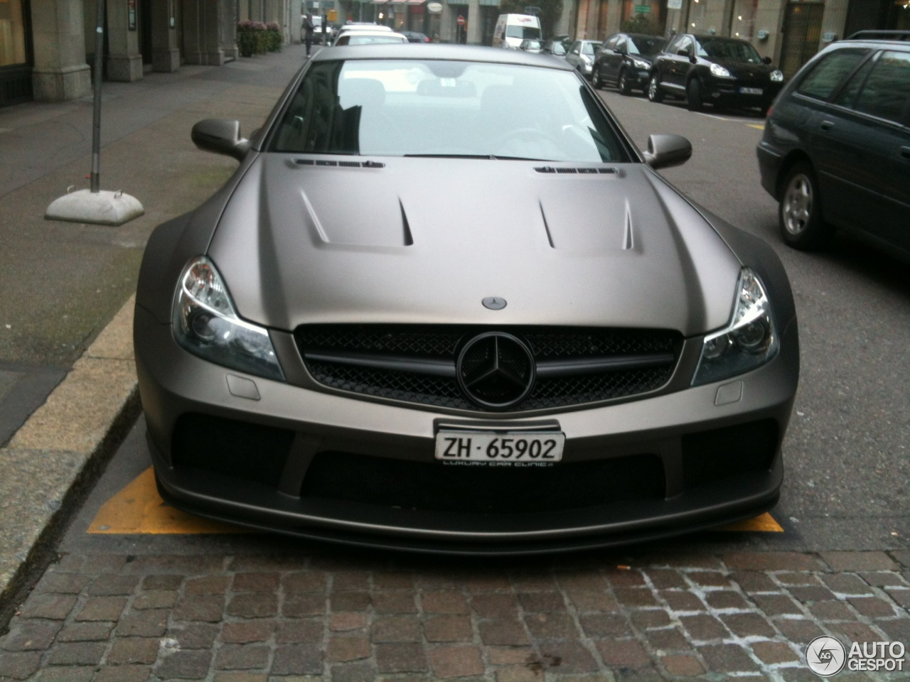 Mercedes-Benz SL 65 AMG Black Series 1