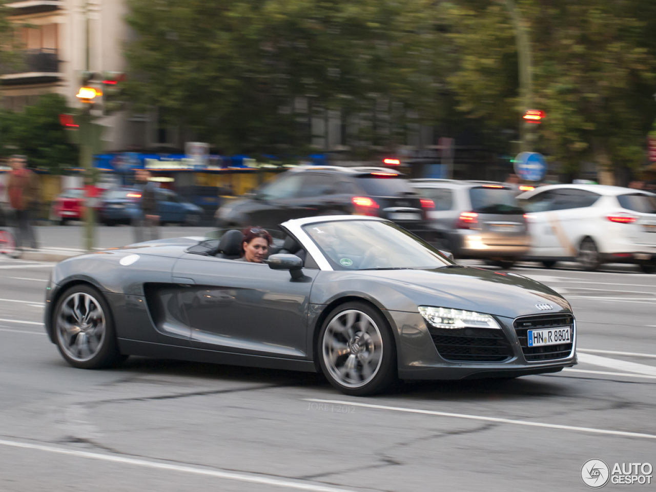 2012 Audi R8 GT Spyder  News  Car and Driver