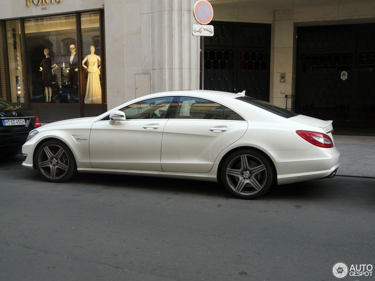 Mercedes benz cls 63 amg c218 29 march 2013 autogespot for 2013 mercedes benz cls 63 amg