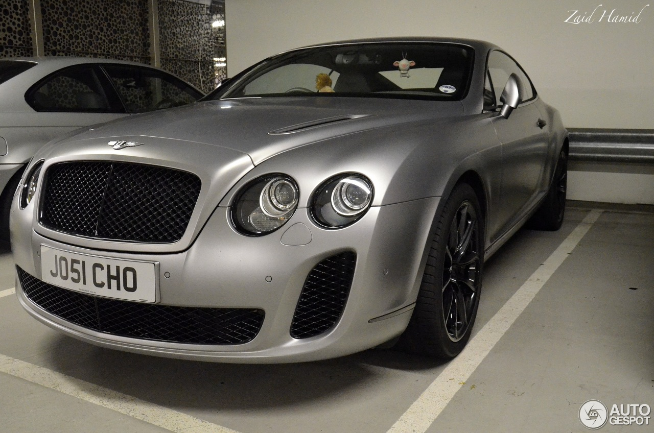 bentley continental supersports coup 3 april 2013 autogespot. Cars Review. Best American Auto & Cars Review