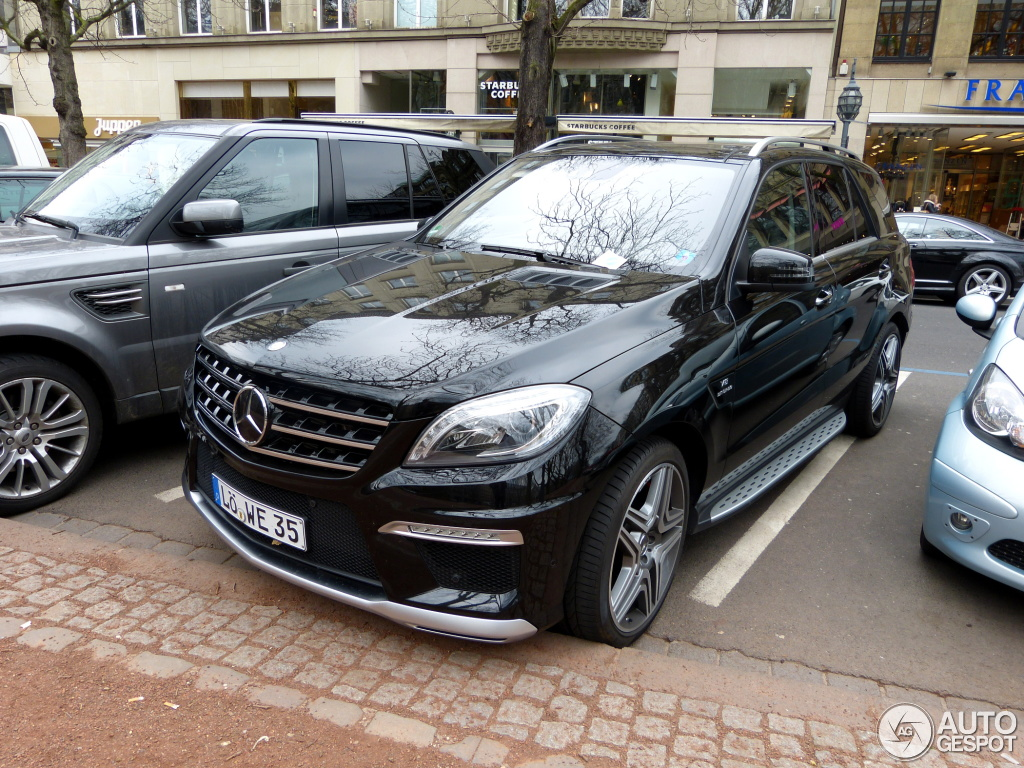 mercedes benz ml 63 amg w166 3 april 2013 autogespot. Black Bedroom Furniture Sets. Home Design Ideas