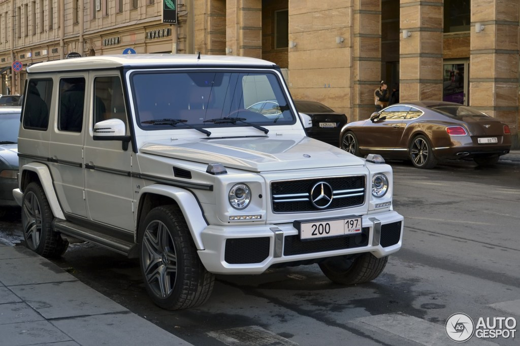 Mercedes-Benz G 63 AMG 2012 - 5        2013 - Autogespot