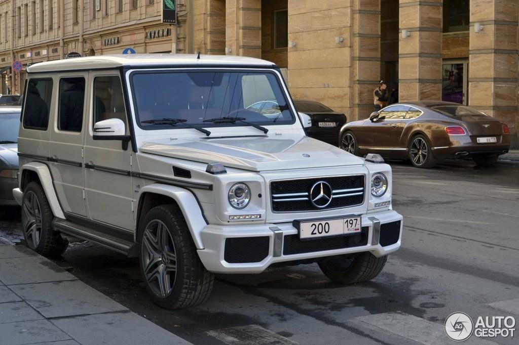 Mercedes-Benz G 63 AMG 2012 - 5        2013 - Autogespot