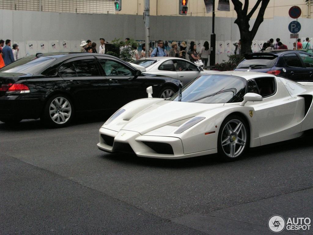 ferrari enzo ferrari 6 april 2013 autogespot - Ferrari Enzo 2013 White