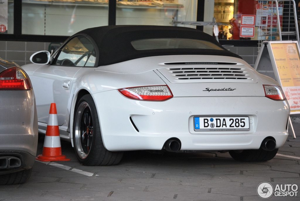 Porsche 997 Speedster 6 April 2013 Autogespot