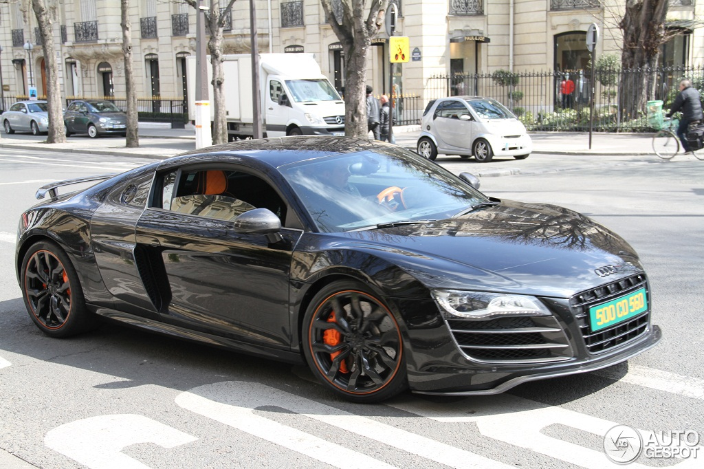 audi r8 v10 hyper black edition 8 avril 2013 autogespot. Black Bedroom Furniture Sets. Home Design Ideas