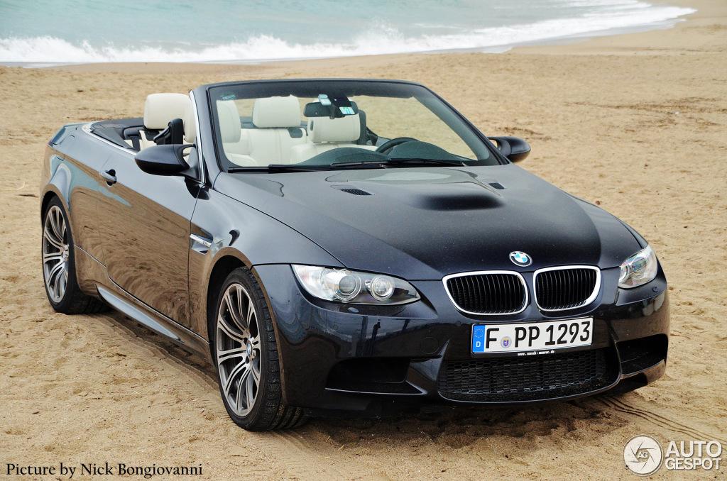 Bmw M3 A Vendre >> BMW M3 E93 Cabriolet - 8 avril 2013 - Autogespot