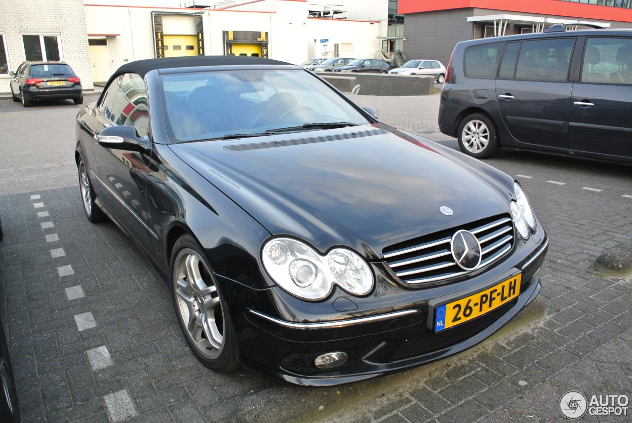 Mercedes benz clk 55 amg cabriolet 9 april 2013 autogespot for Mercedes benz clk 2013
