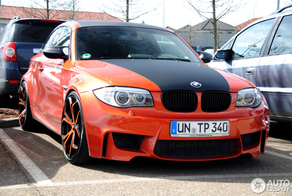 bmw tuning pur 1 series m coup 14 april 2013 autogespot. Black Bedroom Furniture Sets. Home Design Ideas