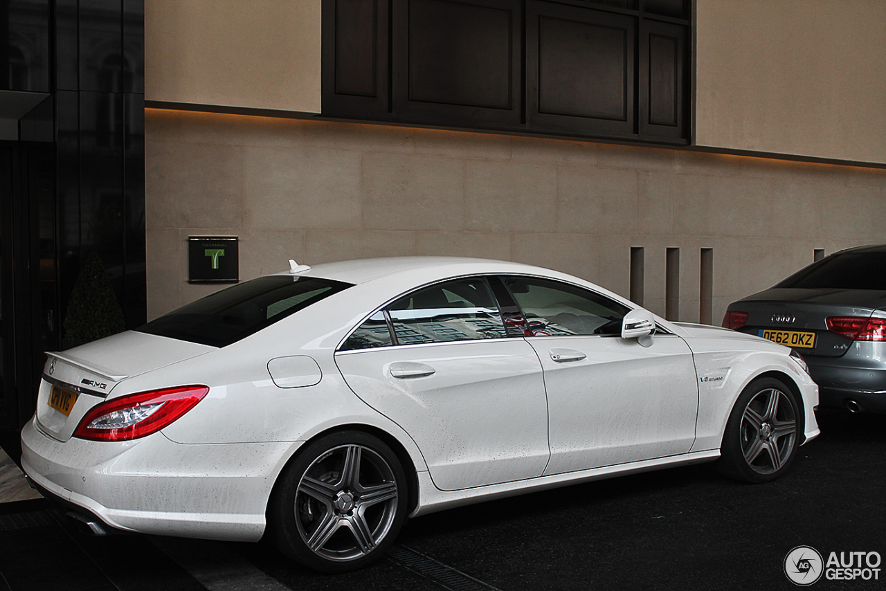 Mercedes benz cls 63 amg c218 15 april 2013 autogespot for 2013 mercedes benz cls 63 amg