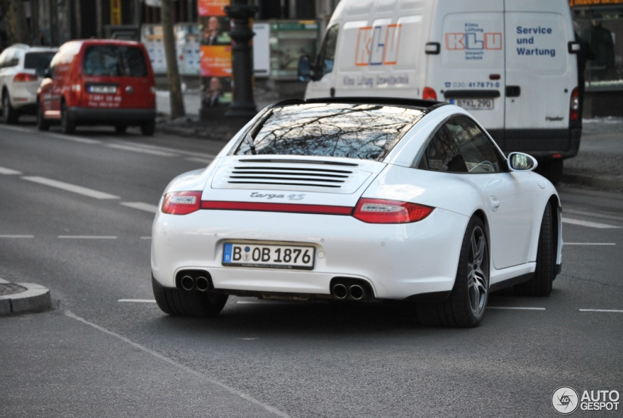 Porsche 997 Targa 4s Mkii 15 April 2013 Autogespot