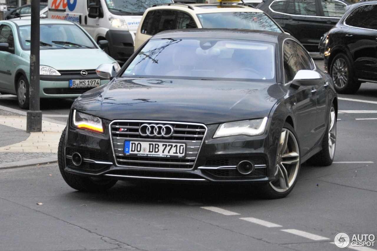 audi s7 sportback 17 april 2013 autogespot. Black Bedroom Furniture Sets. Home Design Ideas