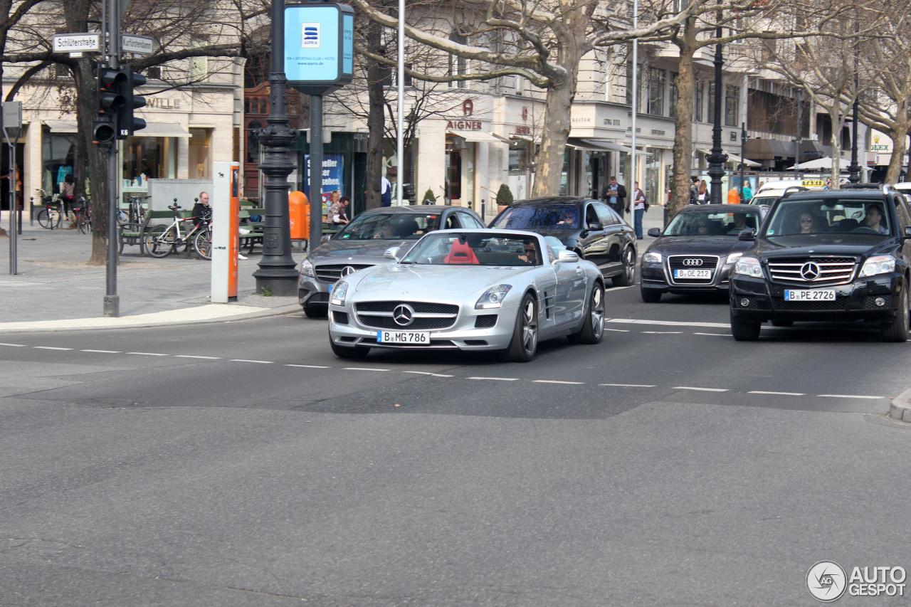 Mercedes Benz Sls Amg Roadster 18 April 2013 Autogespot