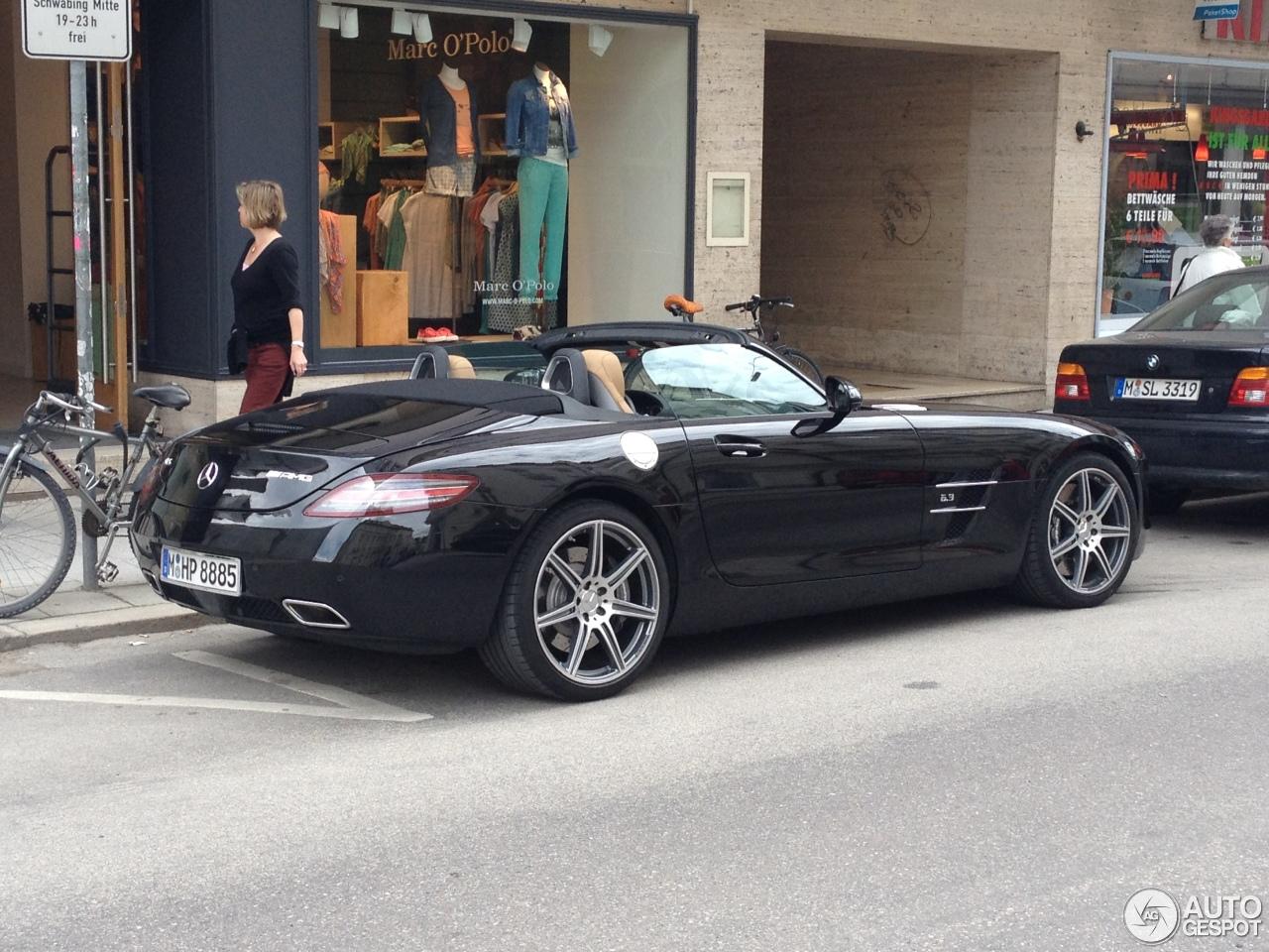 Mercedes Benz Sls Amg Roadster 19 April 2013 Autogespot