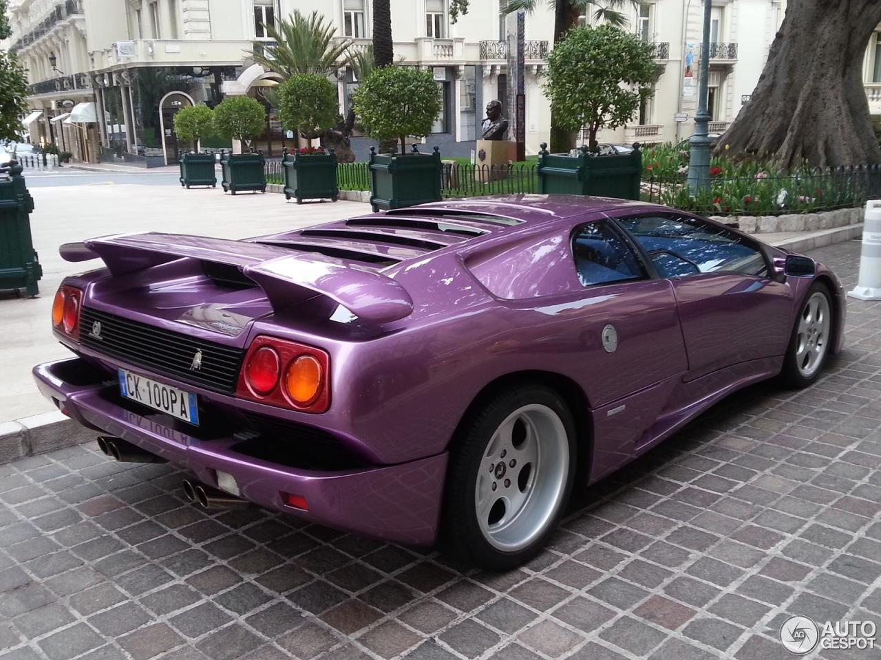 Lamborghini Diablo SE30 - 20 April 2013 - Auspot on purple nissan gt-r 2014, purple dodge durango 2014, purple volkswagen beetle 2014, purple corvette 2014, purple bugatti veyron 2014, purple dodge challenger 2014, purple lotus elise 2014,