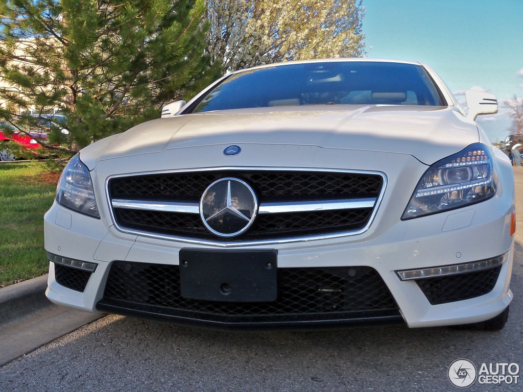 Mercedes benz cls 63 amg c218 20 april 2013 autogespot for 2013 mercedes benz cls 63 amg