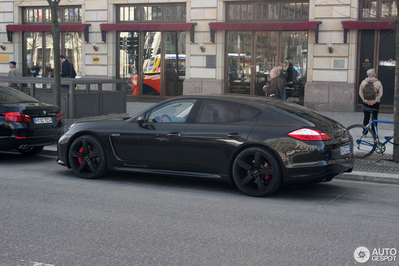 porsche panamera gts 20 april 2013 autogespot. Black Bedroom Furniture Sets. Home Design Ideas