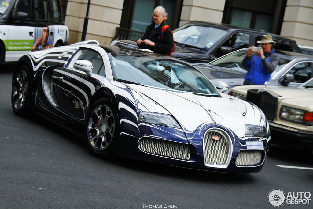 bugatti veyron 16 4 grand sport l 39 or blanc 22 april 2013. Black Bedroom Furniture Sets. Home Design Ideas