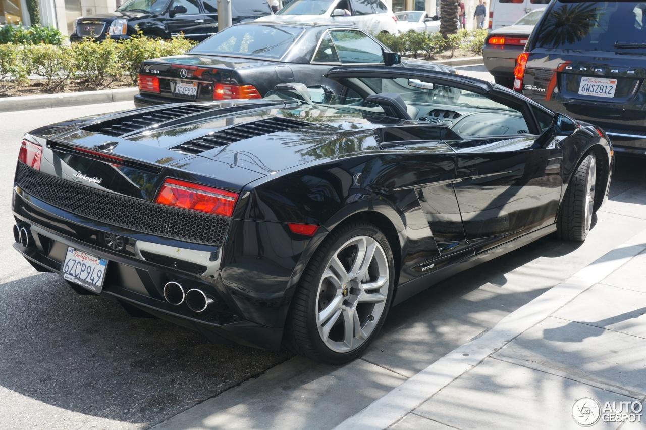 3 i lamborghini gallardo lp550 2 spyder 3 - Lamborghini Gallardo Spyder Black 2013