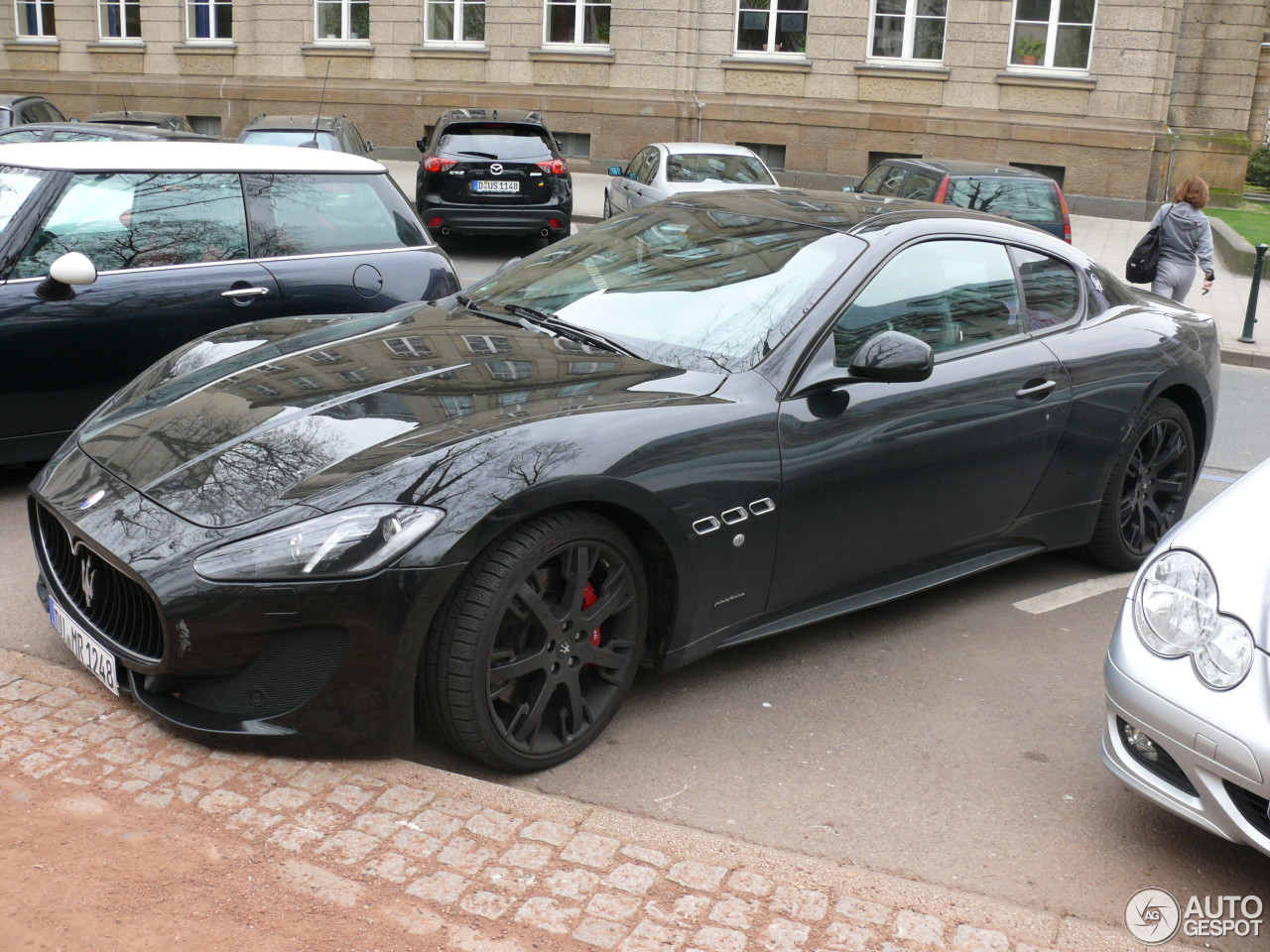 maserati granturismo sport 26 april 2013 autogespot. Black Bedroom Furniture Sets. Home Design Ideas