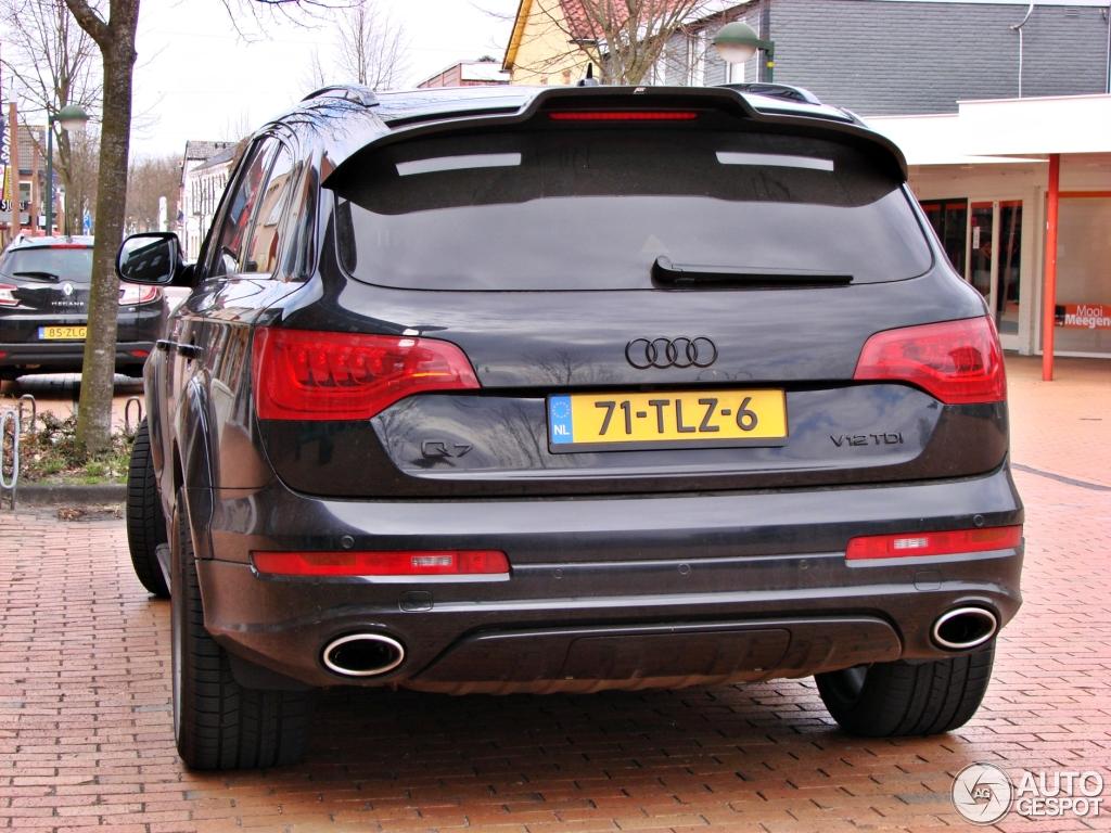 Audi Q7 V12 Tdi 27 April 2013 Autogespot