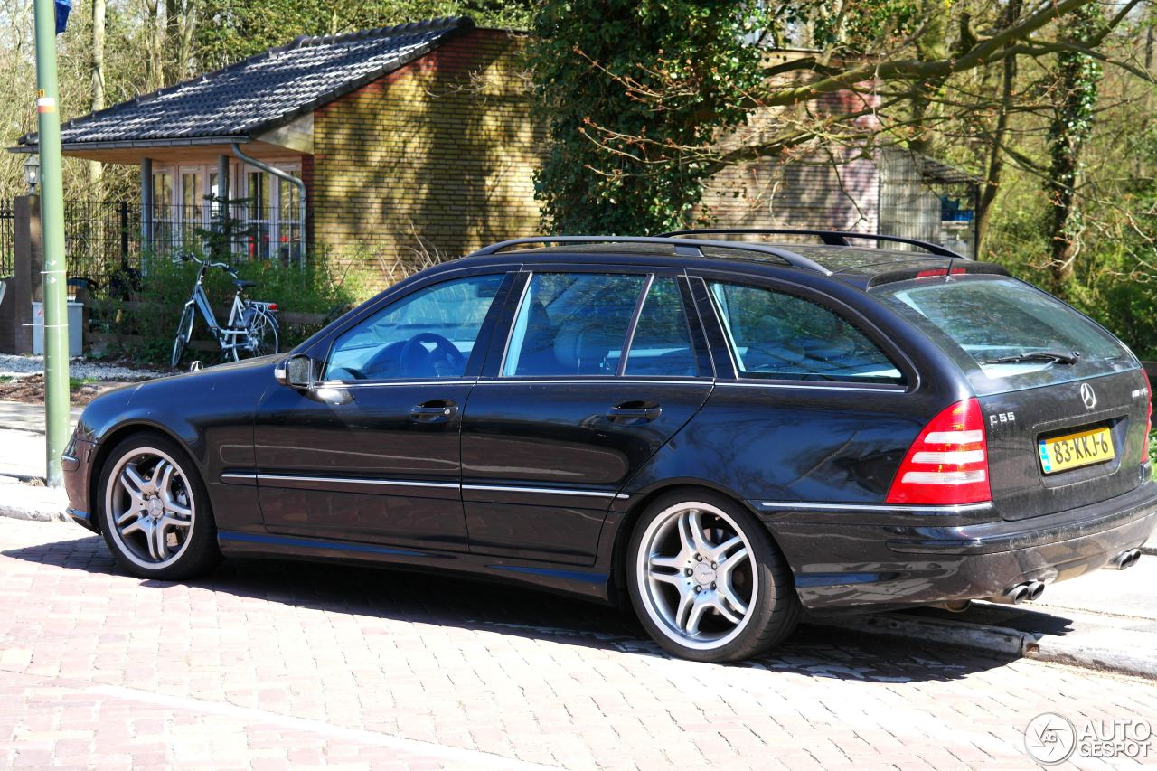 mercedes benz c 55 amg combi 28 april 2013 autogespot. Black Bedroom Furniture Sets. Home Design Ideas