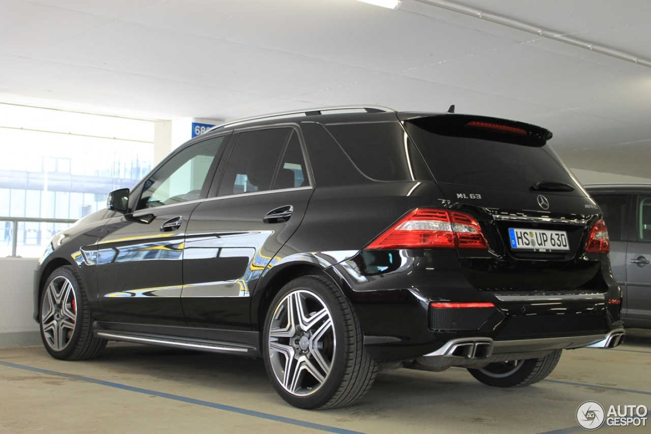 mercedes benz ml 63 amg w166 28 april 2013 autogespot. Black Bedroom Furniture Sets. Home Design Ideas