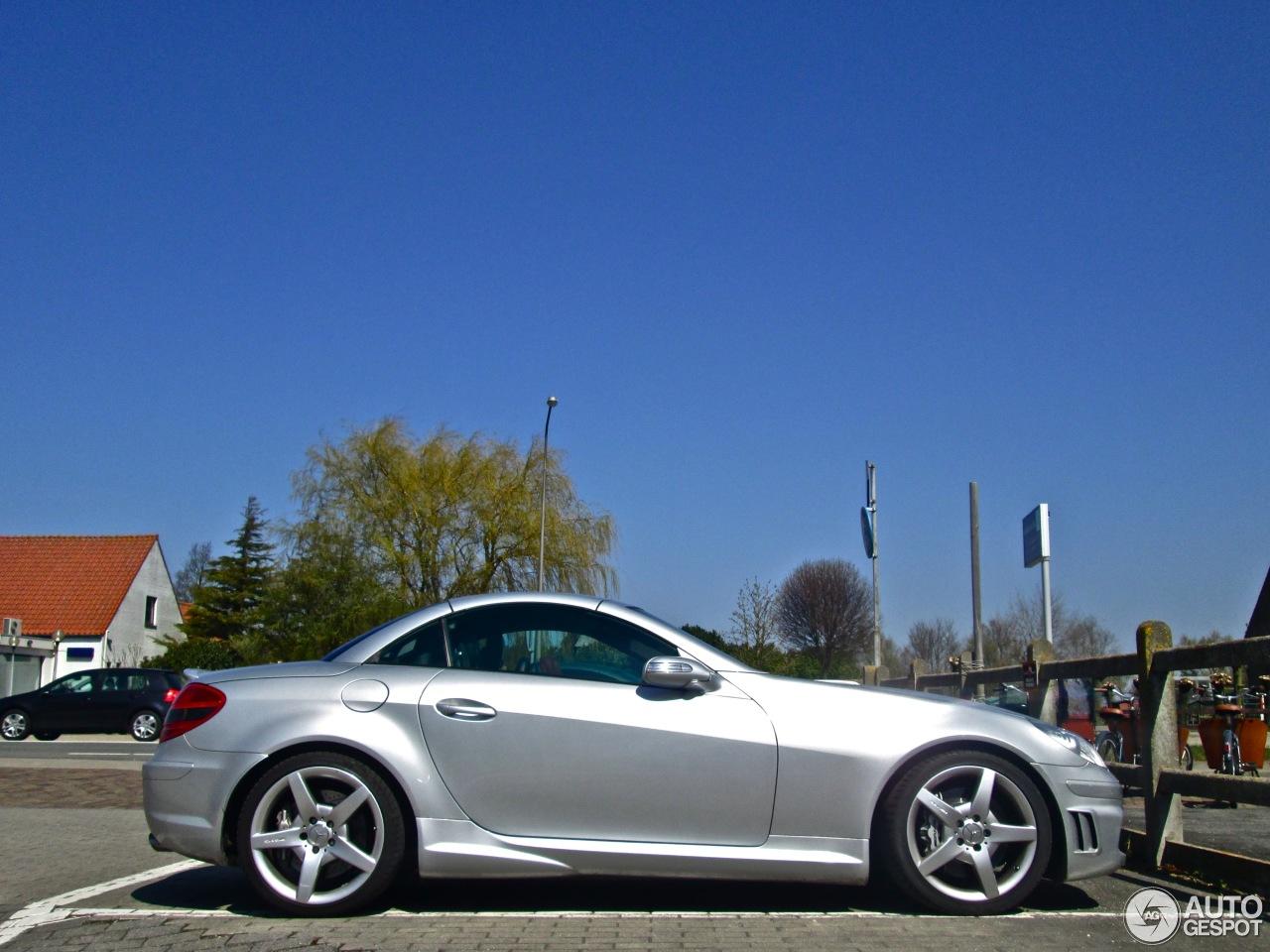 Mercedes benz slk 55 amg r171 30 april 2013 autogespot for 2013 mercedes benz slk 250 price