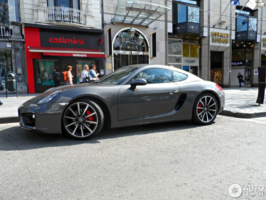 Porsche 981 Cayman S 1 May 2013 Autogespot