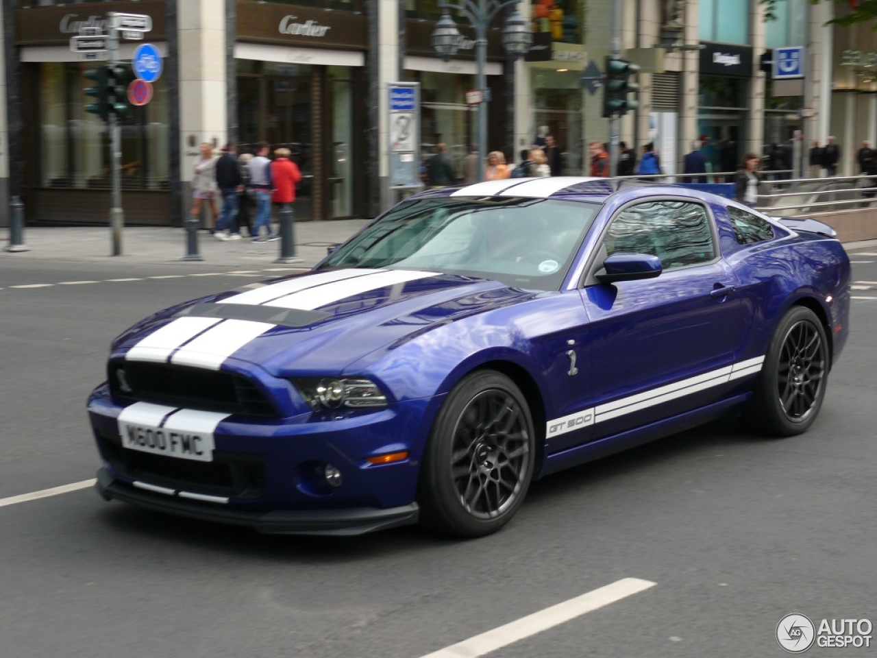 ford mustang shelby gt500 2013 2 mai 2013 autogespot. Black Bedroom Furniture Sets. Home Design Ideas