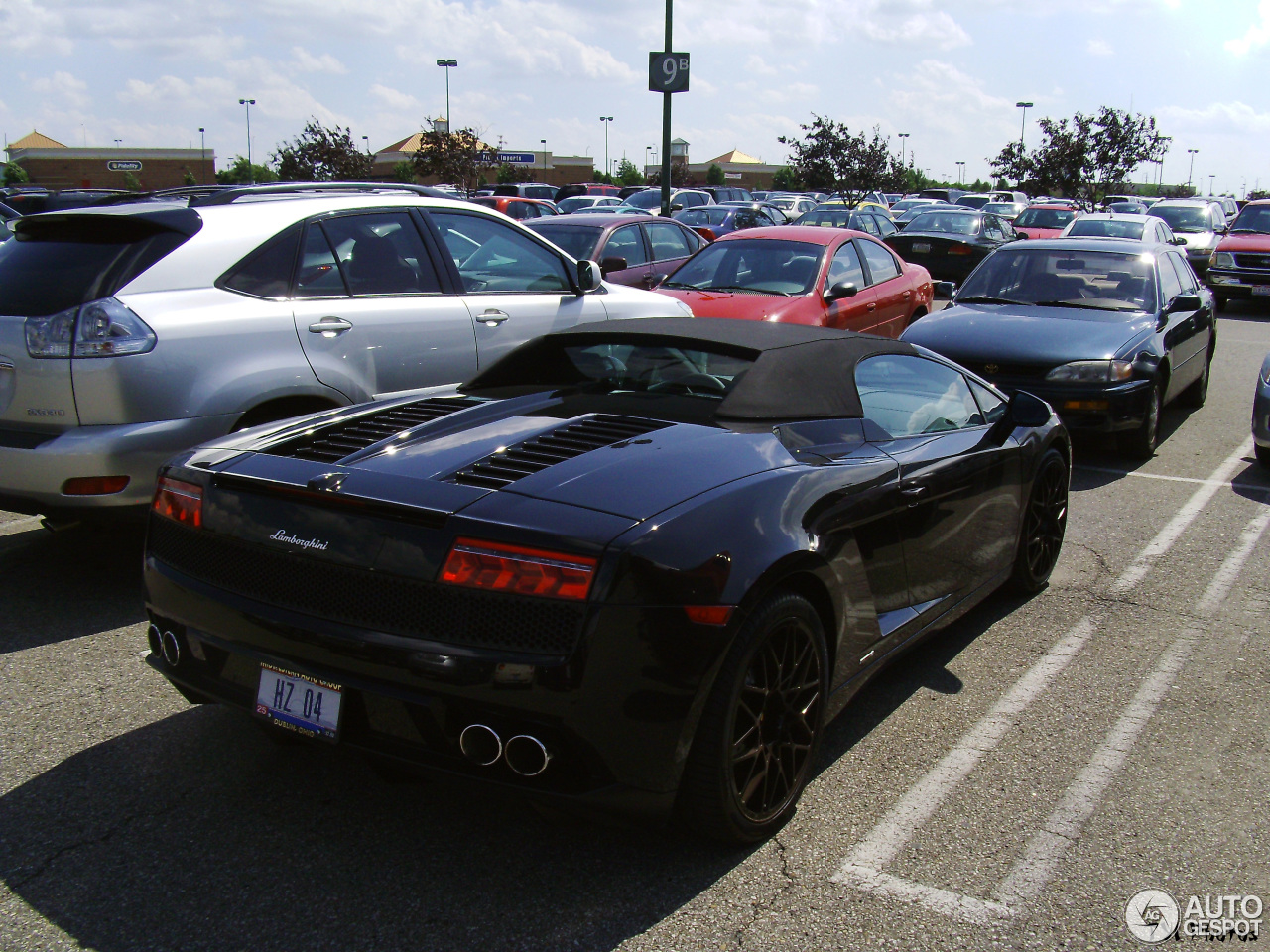 2 i lamborghini gallardo lp560 4 spyder 2 - Lamborghini Gallardo Spyder Black 2013