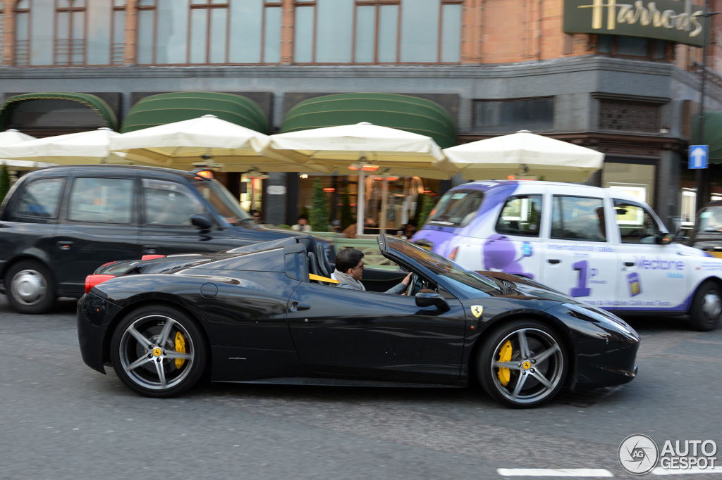 Ferrari 458 Spider 4 May 2013 Autogespot