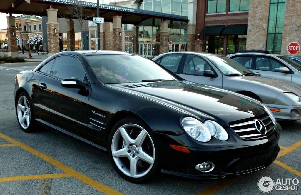mercedes benz sl 55 amg r230 2006 4 may 2013 autogespot. Black Bedroom Furniture Sets. Home Design Ideas
