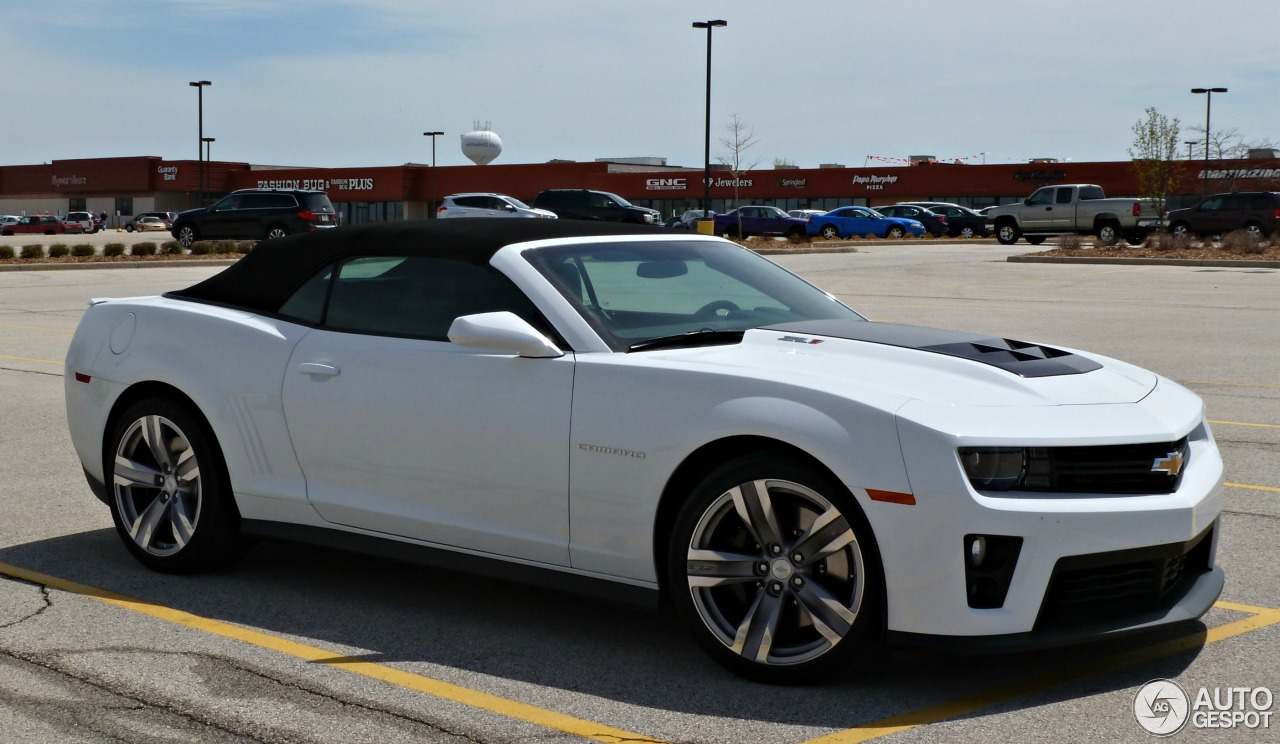 Chevrolet Camaro Zl1 Convertible 5 May 2013 Autogespot