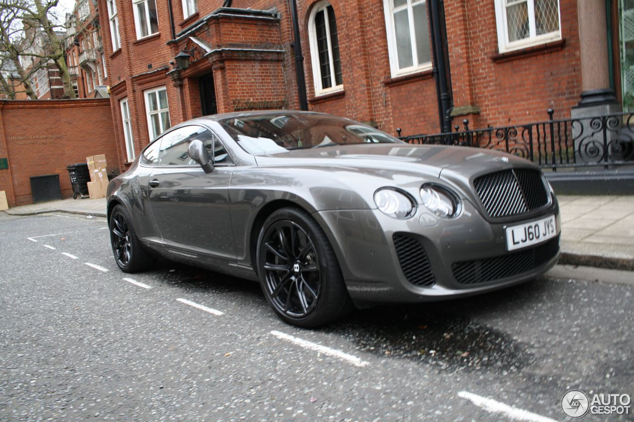 bentley continental supersports coup 6 may 2013 autogespot. Cars Review. Best American Auto & Cars Review