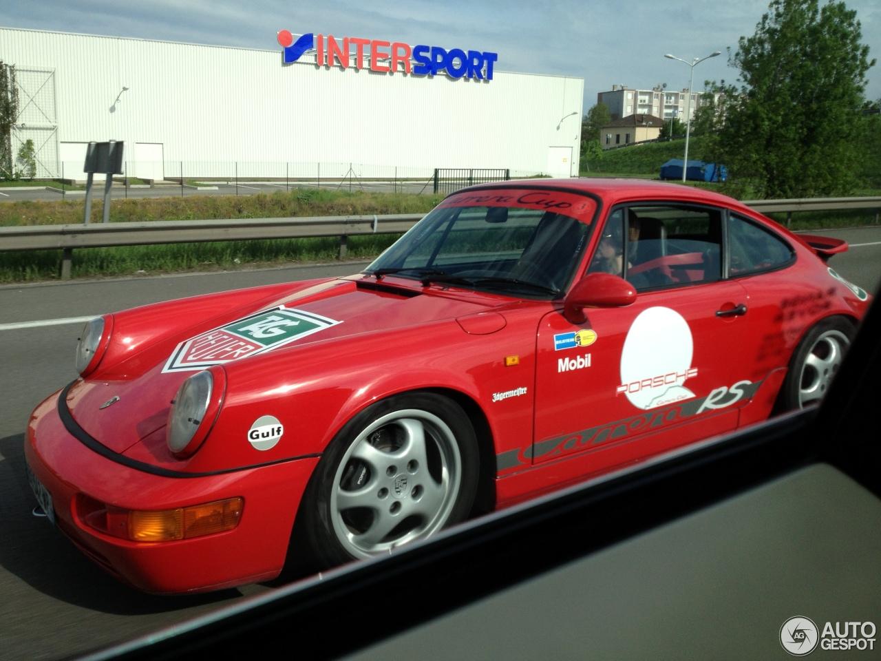 Porsche 964 Carrera Rs Cup 6 Mai 2013 Autogespot