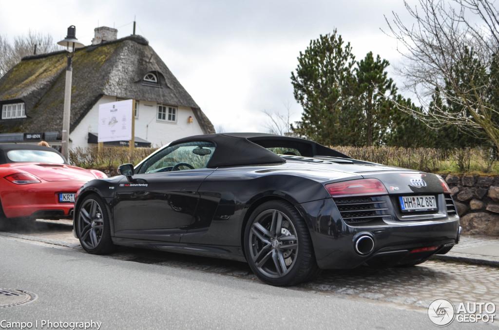 Audi r8 spyder matte black price
