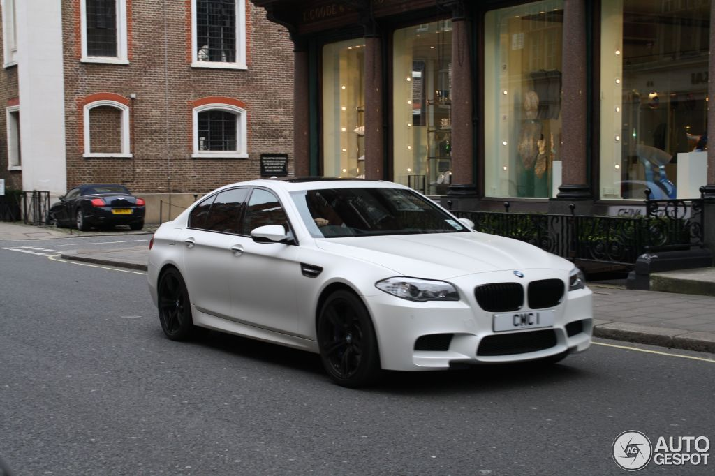 Bmw M5 F10 M Performance Edition 8 May 2013 Autogespot
