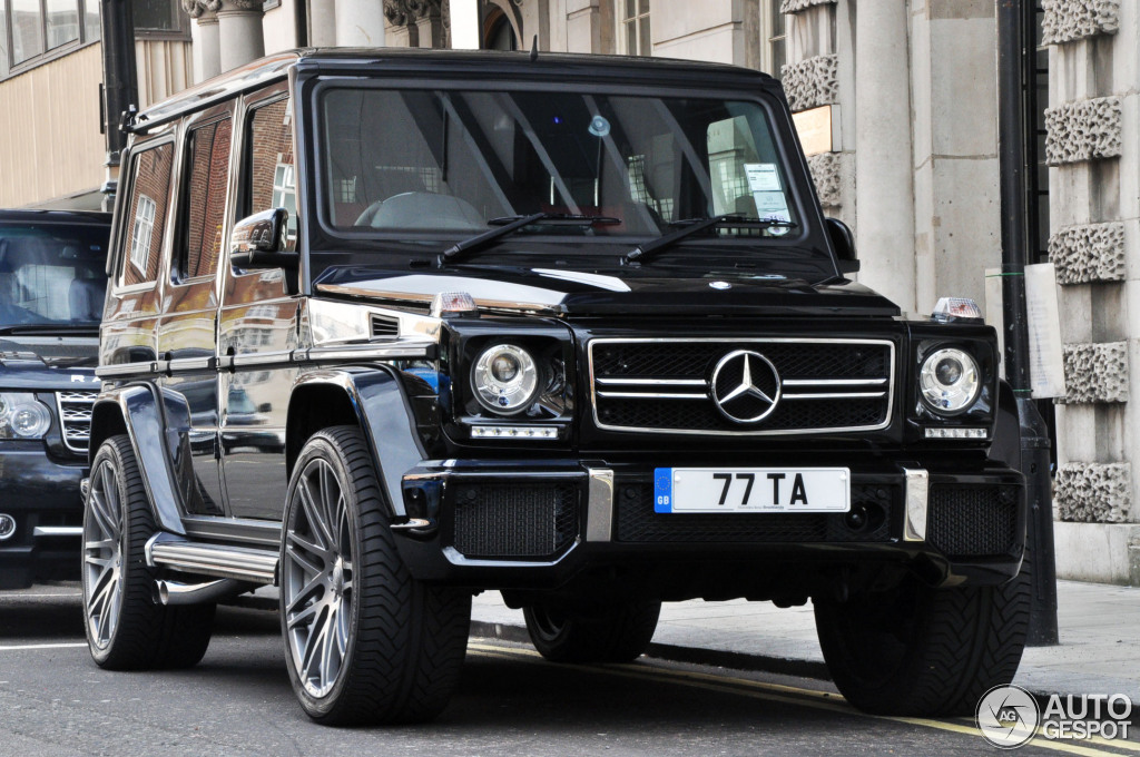 Mercedes-Benz G 63 AMG 2012 - 8     2013 - Autogespot