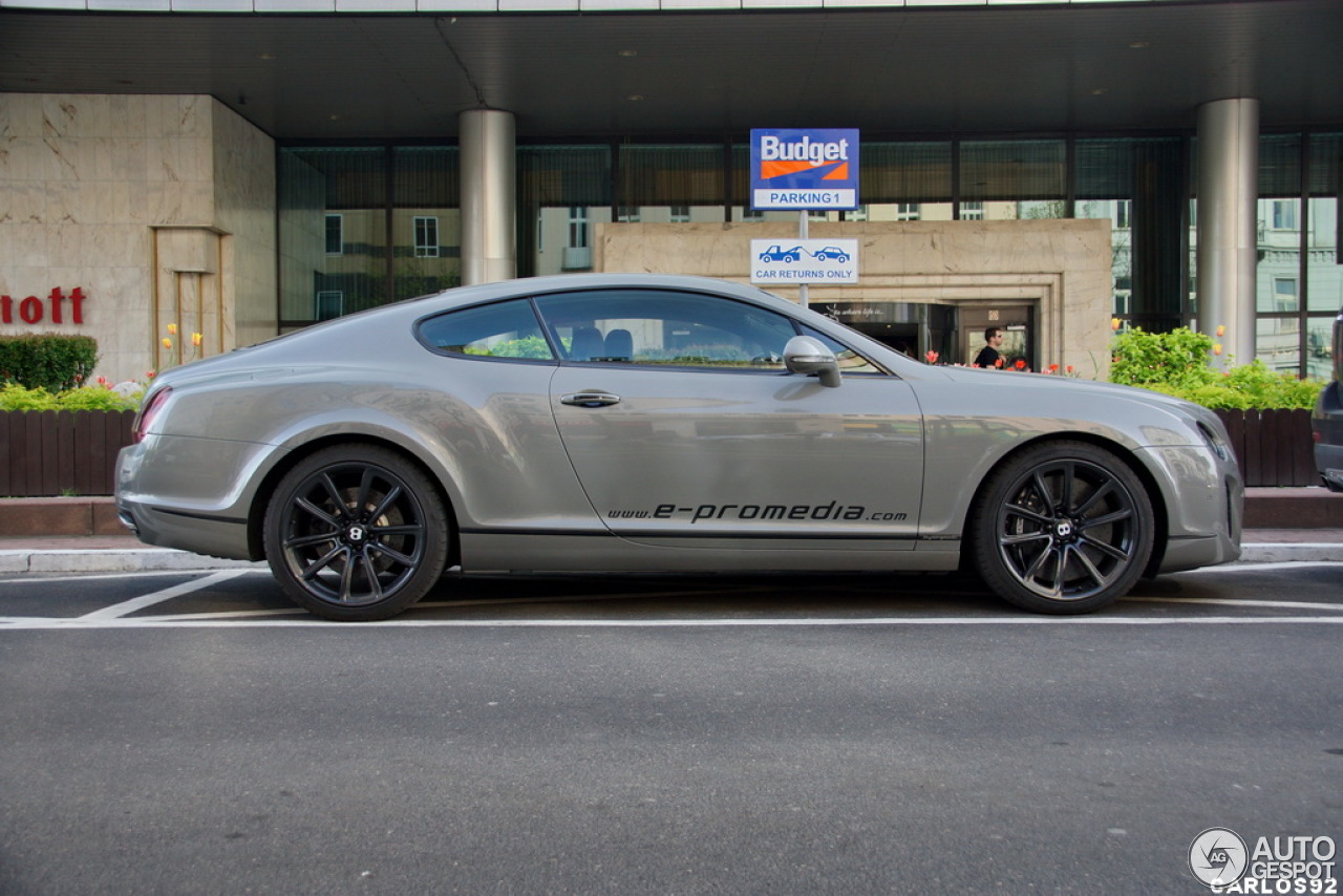 bentley continental supersports coup 9 may 2013 autogespot. Cars Review. Best American Auto & Cars Review