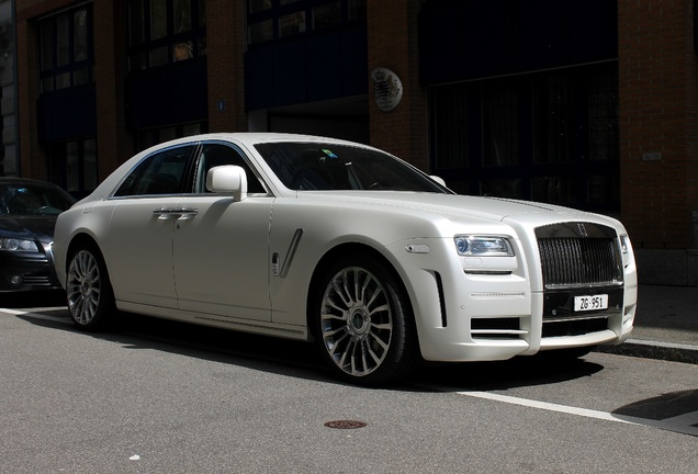 White Rolls-Royce Ghost Mansory Limited