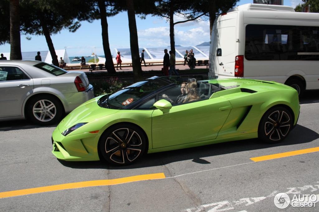 4 i lamborghini gallardo lp560 4 spyder 2013 4 - Lamborghini Gallardo Spyder Green