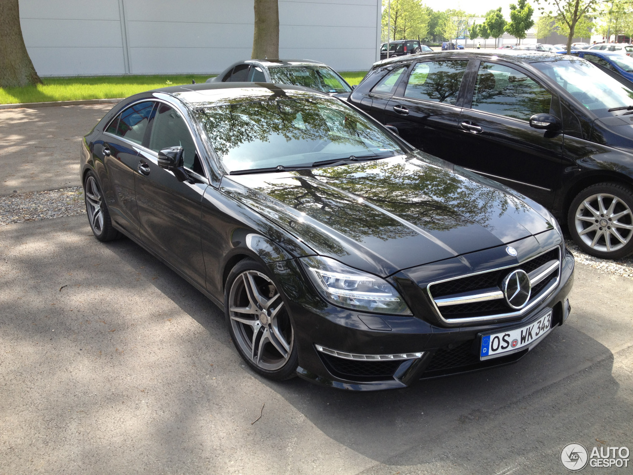 Mercedes benz cls 63 amg c218 20 may 2013 autogespot for 2013 mercedes benz cls 63 amg