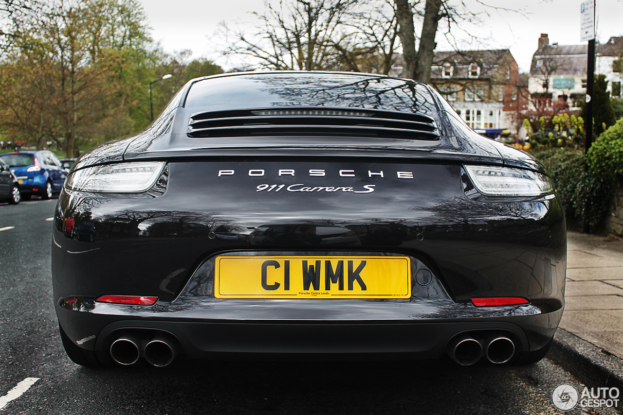 Porsche 991 Carrera S  20 May 2013  Autogespot