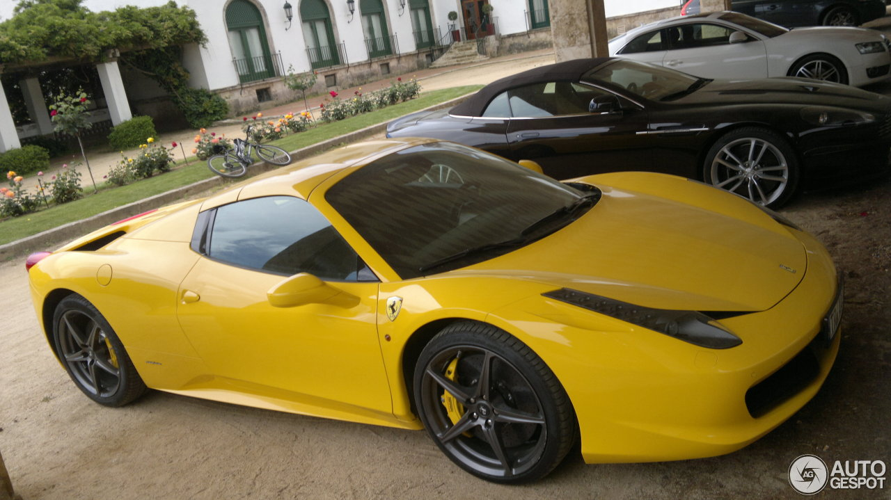 ferrari 458 spider 21 mai 2013 autogespot. Black Bedroom Furniture Sets. Home Design Ideas