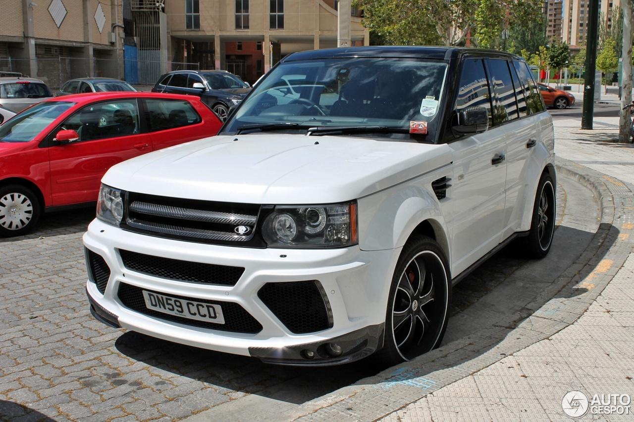 Land Rover Mansory Range Rover Sport 4