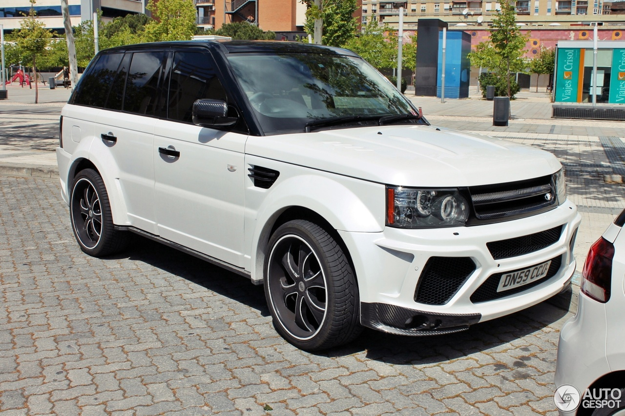 Land Rover Mansory Range Rover Sport 5