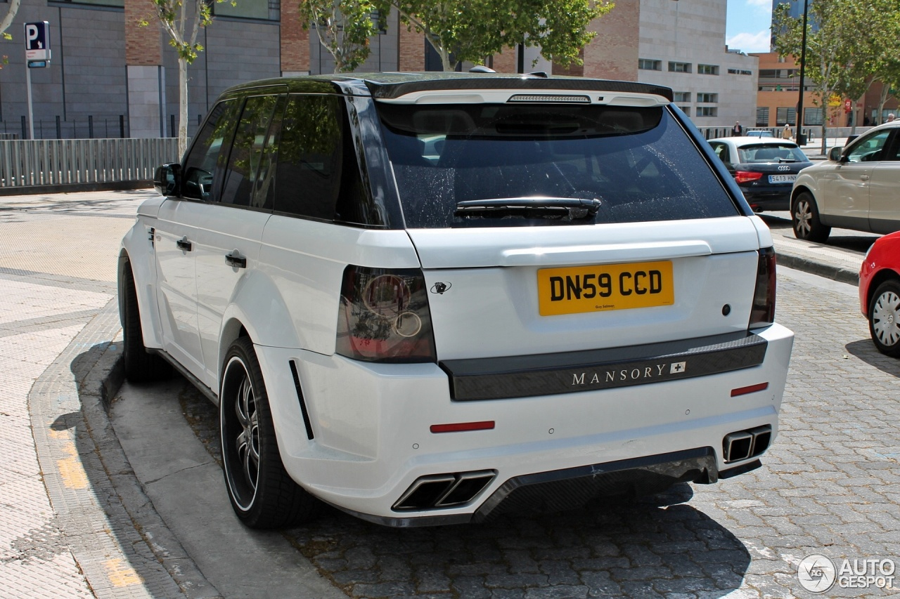 Land Rover Mansory Range Rover Sport 9